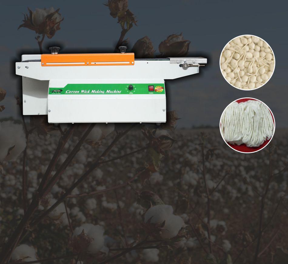 Cotton Wick Making Machine
